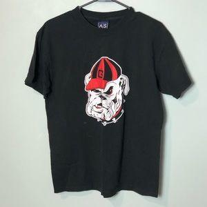 Georgia Bulldogs T-shirt size medium black